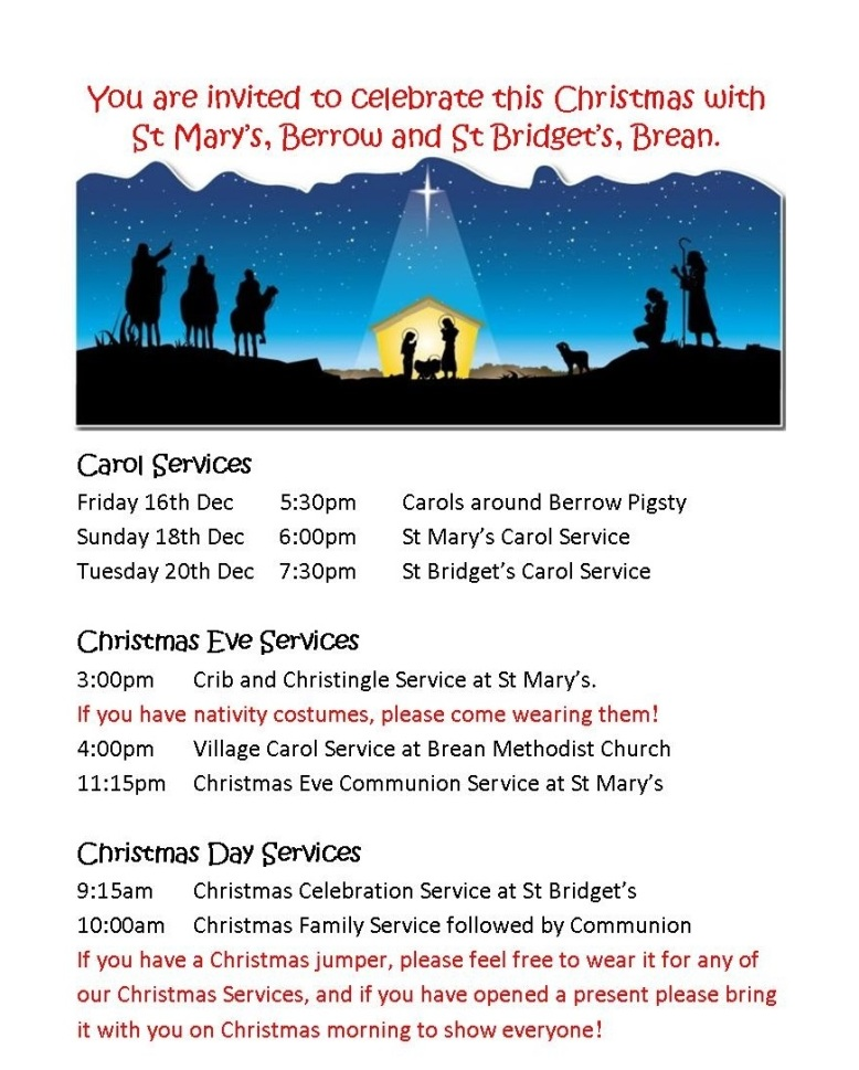 berrow-christmas-family-services-poster