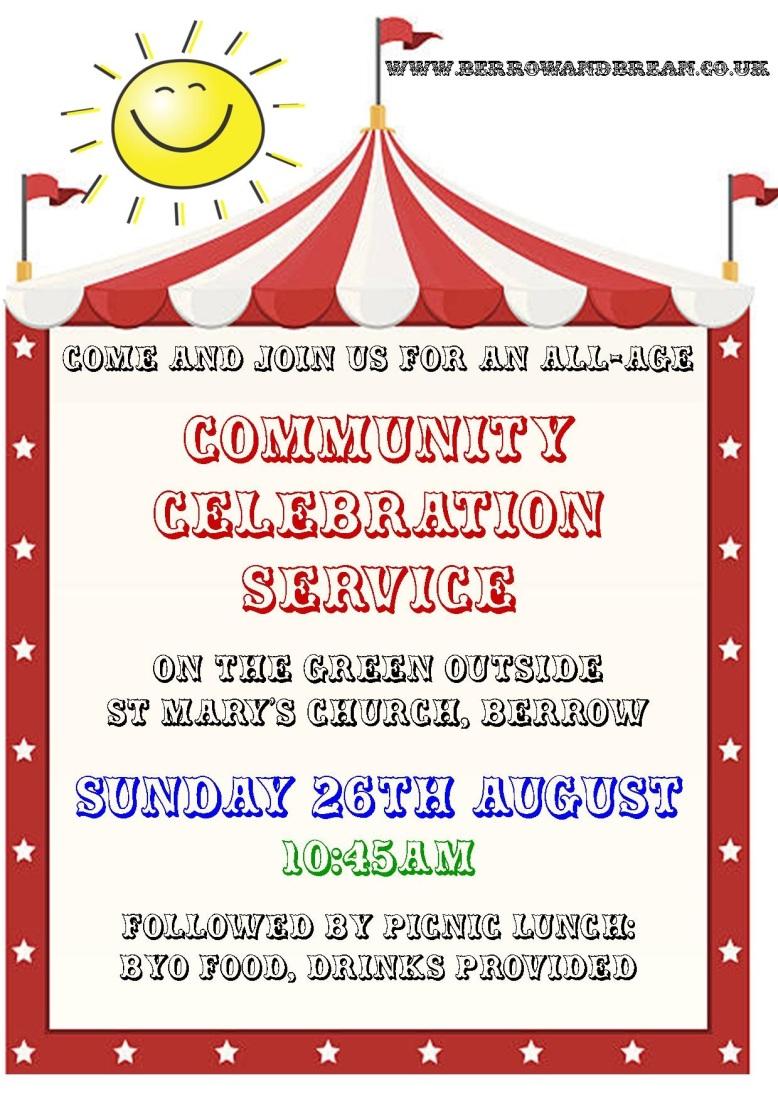 Community Celebration Service