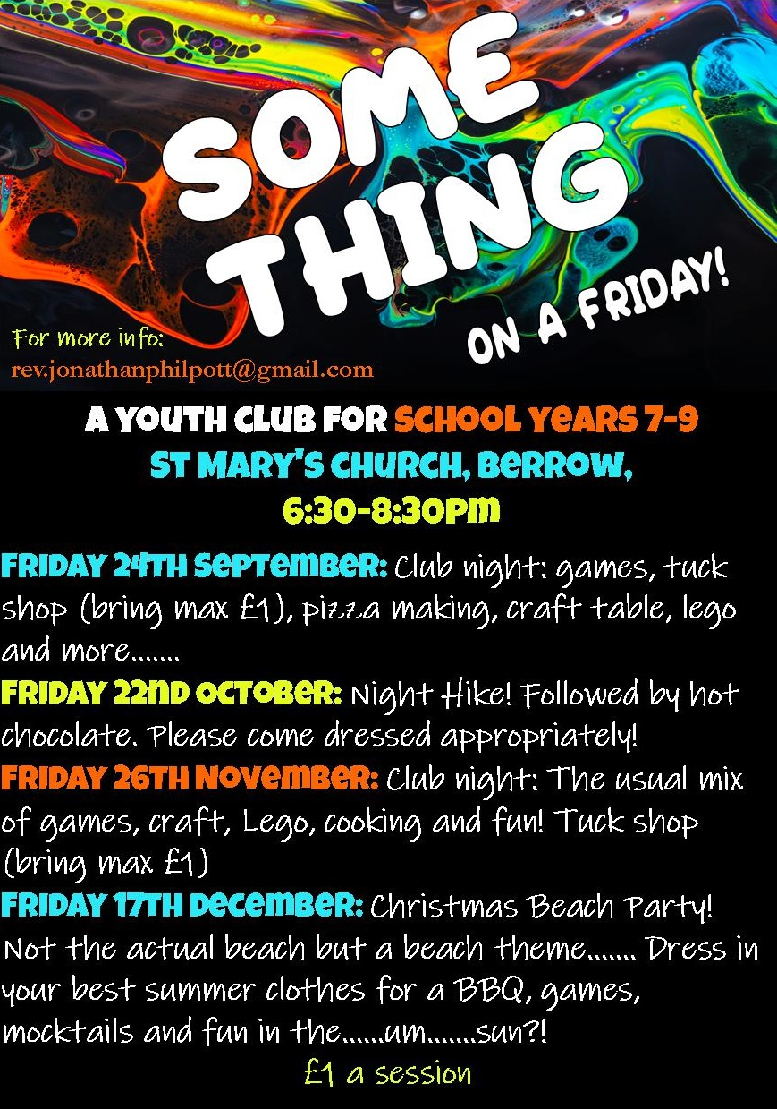 Some Thing 2021 autumn term flyer 2